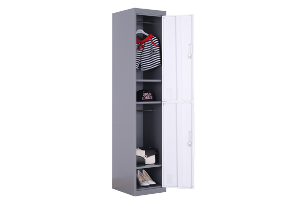 Two single storage cabinets