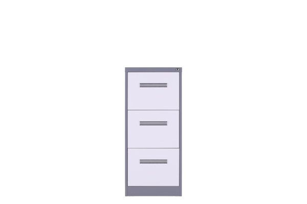 Three drawers filing cabinets