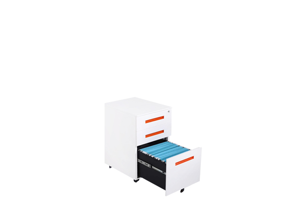 3 Drawer office  Movable Cabinet